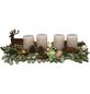 Adventsgesteck, sahara dekoriert mit Hirsch-Thumbnail