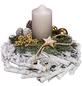 Adventsgesteck, sand dekoriert-Thumbnail
