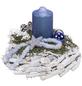Adventsgesteck, saphir dekoriert-Thumbnail