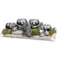 Adventsgesteck, silber dekoriert-Thumbnail