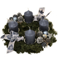GARTENKRONE Adventskranz, Edeltanne, Ø: 30 cm, dekoriert-Thumbnail