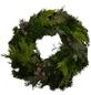 GARTENKRONE Adventskranz, Mischgrün, Ø: 35 cm, undekoriert-Thumbnail