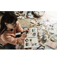 BOSCH HOME & GARDEN Akku-Heißklebestift »Gluey«, mit Akku, grau-Thumbnail