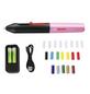 BOSCH HOME & GARDEN Akku-Heißklebestift »Gluey«, mit Akku, schwarz/pink-Thumbnail