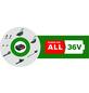 BOSCH HOME & GARDEN Akku-Rasenmäher »EasyRotak 36-550 «, 36 V, 4 Ah, Schnittbreite: 38 cm, mit Akku-Thumbnail