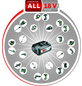 BOSCH Akku-Schrauber »PSR 1800 LI-2« 18 V inklusive Akku-Thumbnail
