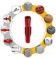 TOX Allzweckdübel, Polyethylen, 100 Stück, 5 x 31 mm-Thumbnail