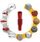 TOX Allzweckdübel, Polyethylen, 100 Stück, 6 x 51 mm-Thumbnail