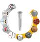 TOX Allzweckdübel, Polyethylen, 25 Stück, 12 x 76 mm-Thumbnail