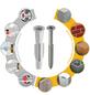 TOX Allzweckdübel, Polyethylen, 8 Stück, 6 x 51 mm-Thumbnail