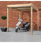 MR. GARDENER Allzweckunterstand, Breite: 204 cm, Dach: Polyvinylchlorid (PVC), braun-Thumbnail