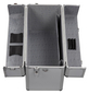 ALUTEC Aluminiumrahmenkoffer, BxHxL: 36 x 22 x 46 cm, Kunststoff-Thumbnail