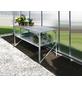 VITAVIA Aluminiumtisch »Fügt sich perfekt in kleine und große Gewächshäuser ein«, B x L x H: 53,76  x 121,04  x 76,13  cm-Thumbnail