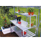 VITAVIA Aluminiumtisch »Fügt sich perfekt in kleine und große Gewächshäuser ein«, BxLxH: 53,76 x 121,04 x 76,13 cm, Aluminium-Thumbnail