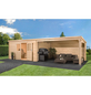 MR. GARDENER Anbau für Blockbohlenhaus »Anbau Malta 4«-Thumbnail