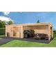 MR. GARDENER Anbau für Blockbohlenhaus »Malta«, Holz, B x T x H: 415 x 339 x 217 cm-Thumbnail