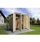 WEKA Anbauraum »Garten (Q) Modul Save Bike«, BxT: 224 x 71 cm (Aufstellmaße)-Thumbnail