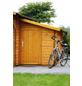 WOLFF Anbauschuppen für Gartenhäuser, Fichtenholz-Thumbnail