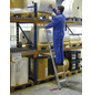 KRAUSE Anlegeleiter »STABILO«, 8 Sprossen, Aluminium-Thumbnail