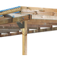 KARIBU Anlehncarport, B x T x H: 622 x 363 x 249 cm, natur-Thumbnail