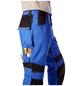 BULLSTAR Arbeitshose EVO Polyester/Baumwolle kornblumenblau/schwarz Gr. 54-Thumbnail