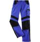 BULLSTAR Arbeitshose EVO Polyester/Baumwolle kornblumenblau/schwarz Gr. 58-Thumbnail