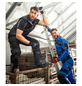 BULLSTAR Arbeitshose EVO Polyester/Baumwolle schwarz/grau Gr. 48-Thumbnail