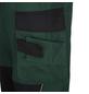 SAFETY AND MORE Arbeitshose EXTREME Polyester/Baumwolle grün/schwarz Gr. M-Thumbnail
