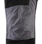 SAFETY AND MORE Arbeitshose NITRO Polyester/Baumwolle schwarz/grau Gr. XL-Thumbnail