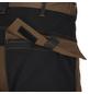 BULLSTAR Arbeitshose PERFORMANCE Polyester/Baumwolle braun/schwarz Gr. 48-Thumbnail