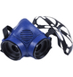 CONNEX Atemschutz-Halbmaske, Blau, Kunststoff-Thumbnail