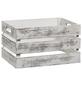 ZELLER Aufbewahrungsbox, BxHxL: 25 x 20 x 35 cm, Holz-Thumbnail