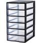 Rotho Aufbewahrungsbox, BxHxL: 26 x 50 x 36 cm, Kunststoff-Thumbnail