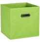 ZELLER Aufbewahrungsbox, BxHxL: 28 x 28 x 28 cm, Vlies/Metall-Thumbnail