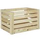 ZELLER Aufbewahrungsbox, BxHxL: 30 x 24 x 40 cm, Kiefernholz-Thumbnail