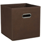 ZELLER Aufbewahrungsbox, BxLxH: 28 x 28  x 28 cm, Vlies/Metall-Thumbnail