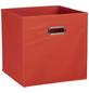 ZELLER Aufbewahrungsbox, BxLxH: 32 x 32  x 32 cm, Vlies/Metall-Thumbnail