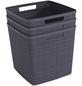 CURVER Aufbewahrungsbox »Jute«, BxHxL: 36 x 23 x 28 cm, Kunststoff-Thumbnail