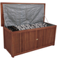 GARDEN PLEASURE Auflagenbox »Washington«, BxHxT: 133 x 58 x 55 cm, braun-Thumbnail