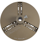 CONNEX Aufnahmeteller Lochsäge, COX976753, Gold, 11cm Durchmesser-Thumbnail