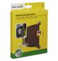 SCHELLENBERG Aufschraubwickler, braun, geeignet für: Rollladensystem MINI mit 14 mm Gurtband-Thumbnail