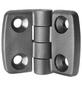 CONNEX Aushebescharnier, LxB: 4,8 x 5,8 cm, Schwarz, Kunststoff-Thumbnail
