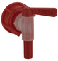 FLORAWORLD Auslaufhahn, Kunststoff, rot-Thumbnail