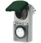 REV Außen-Zeitschaltuhr, Grün | Grau, 230 V-Thumbnail