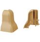 FN NEUHOFER HOLZ Außenecke »FU18H«, (2 Stk.) aus Kunststoff, für Sockelleisten-Thumbnail