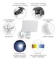 STEINEL Außenleuchte »Home 2«, 20 W, IP44, kaltweiß-Thumbnail