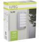 LUTEC Außenleuchte »SLIM«, 8 W, IP44, warmweiß-Thumbnail