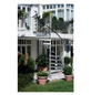 DOLLE Außenspindeltreppe »Gardenspin«, 11 Lochblechstufen, grau, 282 cm Geschosshöhe-Thumbnail