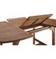 Ausziehtisch, mit Eukalyptusholz-Tischplatte, BxTxH: 100 x 170 x 74 cm-Thumbnail