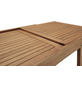 Ausziehtisch, mit Eukalyptusholz-Tischplatte, BxTxH: 70 x 132 x 77,5 cm-Thumbnail